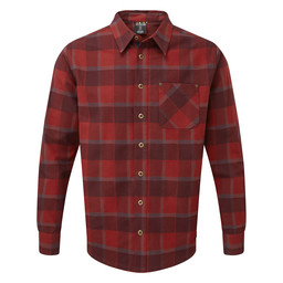 Sardar Long Sleeve Shirt Potala Red