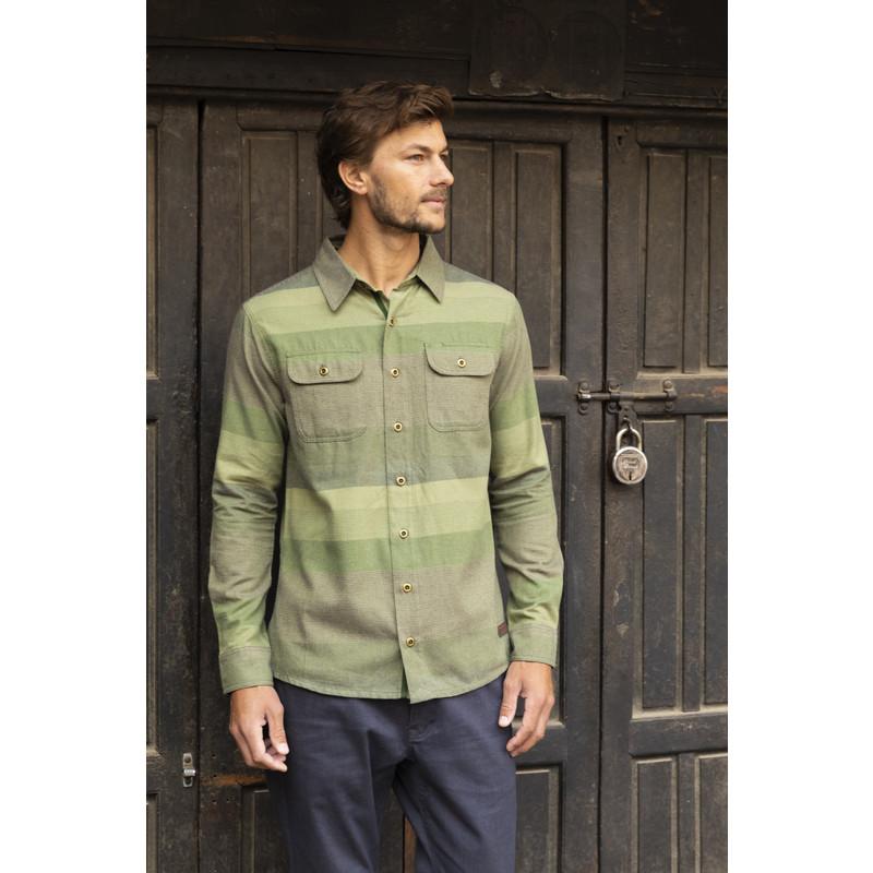 Tamang Shirt - Gokarna Green