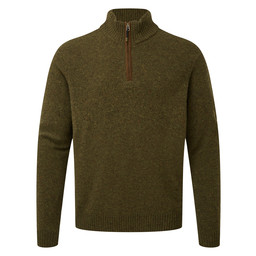 Sherpa Adventure Gear Kangtega Quarter Zip Sweater in Mewa Green