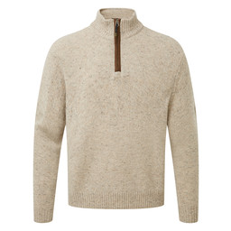 Sherpa Adventure Gear Kangtega Quarter Zip Sweater in Karnali Sand