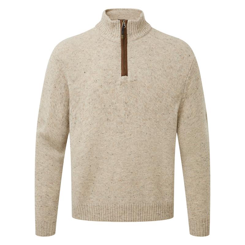 Kangtega Quarter Zip Sweater - Karnali Sand