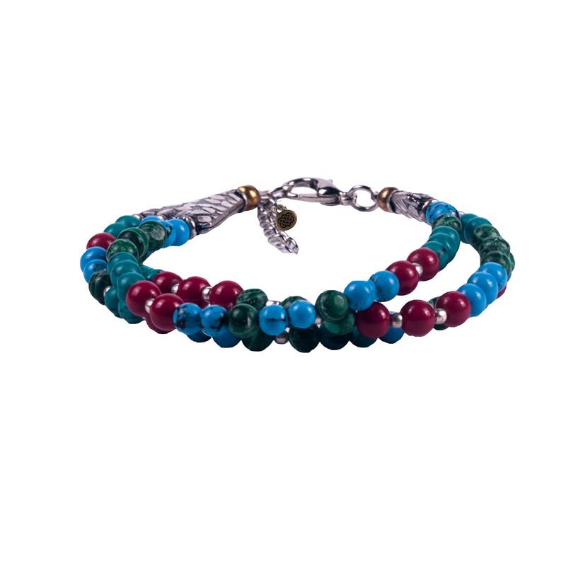 Yuu Bracelet - Blue Tara