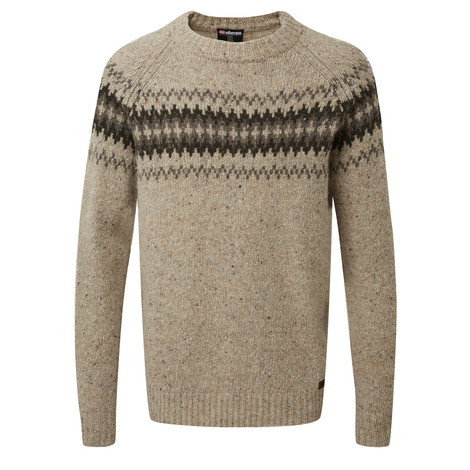 Sherpa Adventure Gear Dumji Crew Sweater in Chai Tea