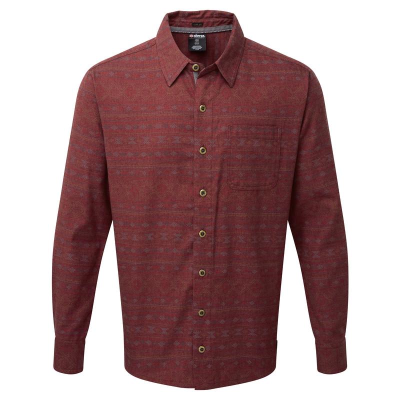 Thimpu Shirt - Potala Red