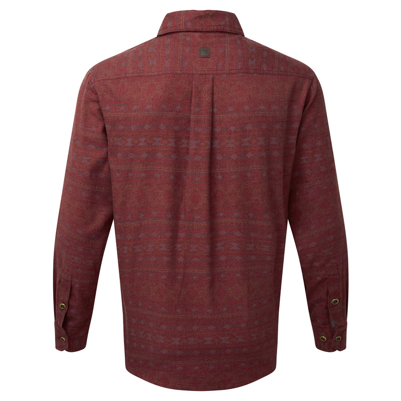 Thimpu Shirt - Potala Red