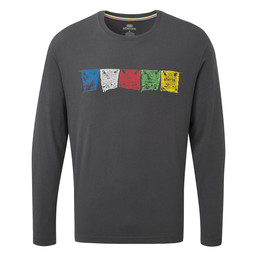 Sherpa Adventure Gear Tarcho Long Sleeve Tee in Kharani