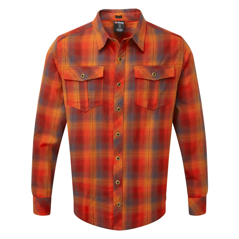 Indra Shirt - Potala Red