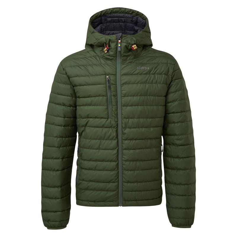 Nangpala Hooded Down Jacket - Mewa Green