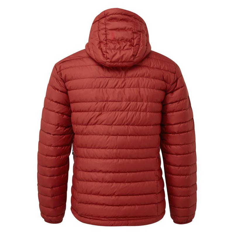 Nangpala Hooded Down Jacket - Potala Red