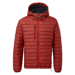 Nangpala Hooded Down Jacket Potala Red