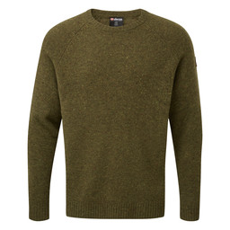 Sherpa Adventure Gear Kangtega Crew Sweater in Mewa Green