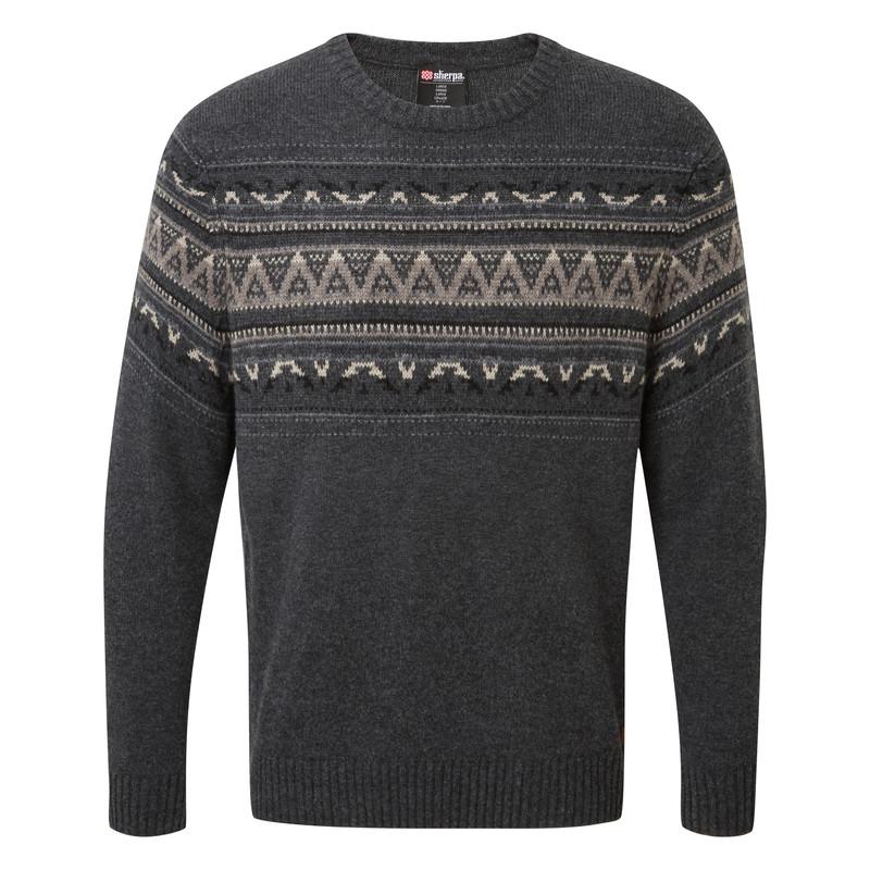 Nathula Crew Sweater - Kharani/Black