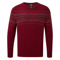 Nathula Crew Sweater Potala Red