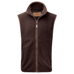 Schoffel Country Oakham Fleece Gilet in Mocha