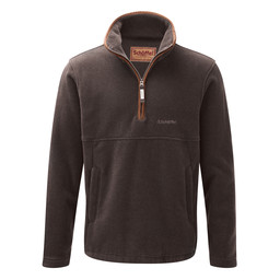Schoffel Country Berkeley 1/4 Zip Fleece in Mocha
