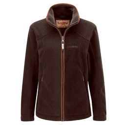 Schoffel Country Burley Fleece in Mocha