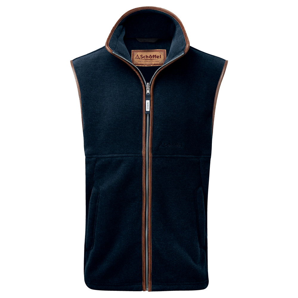 Oakham Fleece Gilet Slate Blue