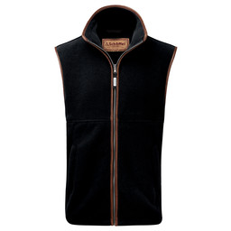 Schoffel Country Oakham Fleece Gilet in Gunmetal