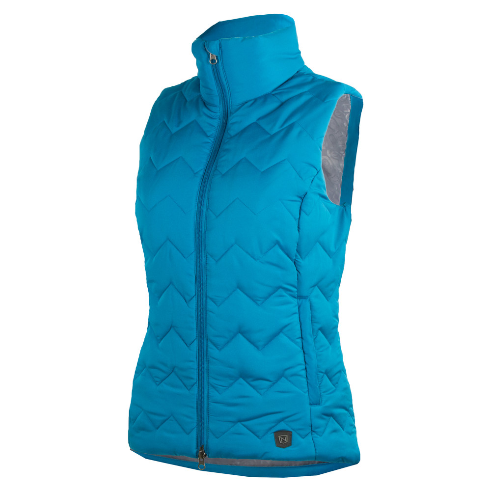 Calgary Vest Seaport Blue