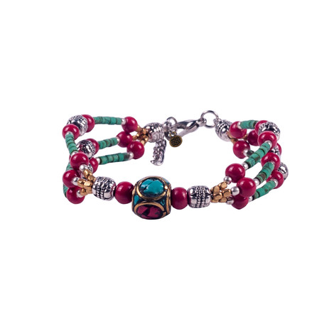 Churu Bracelet Tibetan Coral