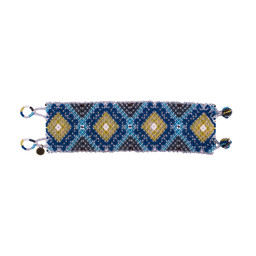 Sherpa Adventure Gear Mayalu Shanti Bracelet in Blue Tara