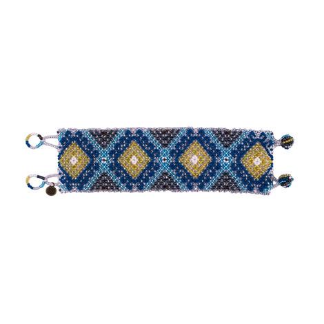 Sherpa Adventure Gear Mayalu Shanti Bracelet in Blue Tara
