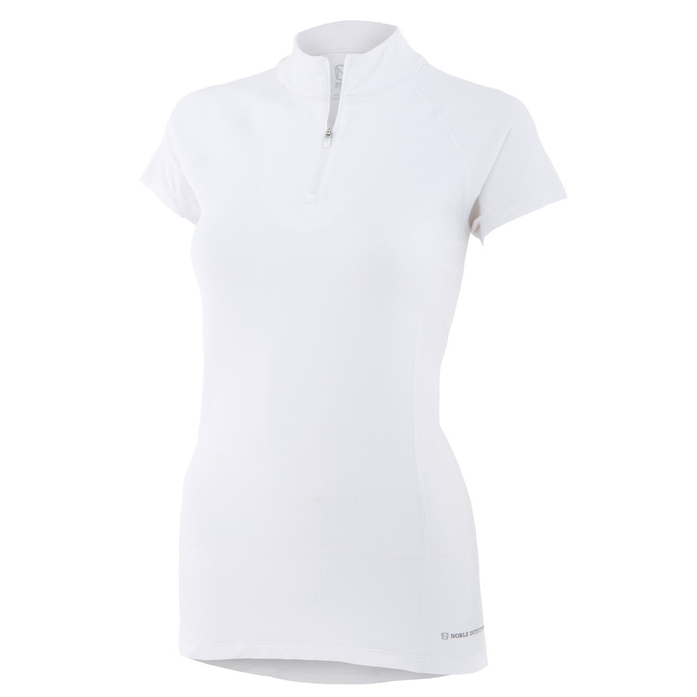 Gwen Short Sleeve Performance White