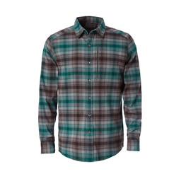Royal Robbins Merinolux Flannel L/S Shirt in Lt Pewter