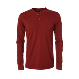 Merinolux Henley Long Sleeve Top