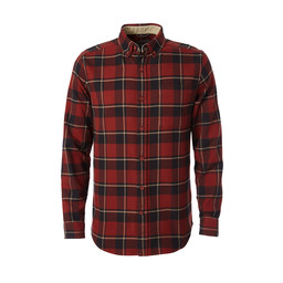 Royal Robbins Lieback Flannel L/S Shirt in Dk Pepper