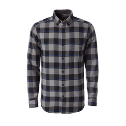Royal Robbins Lieback Flannel L/S Shirt in Pewter