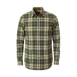 Royal Robbins Trouvaille Plaid L/S Shirt in Climbing Ivy
