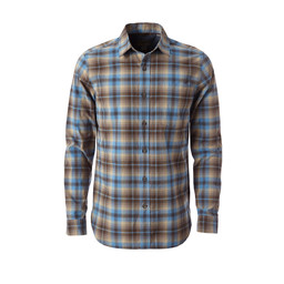 Royal Robbins Trouvaille Plaid L/S Shirt in Falcon
