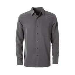 Royal Robbins Desert Pucker Dry L/S Shirt in Asphalt
