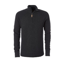 Royal Robbins All Season Merino 1/4 Zip Jumper in Charcoal