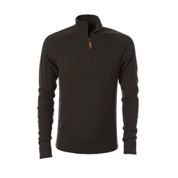 Royal Robbins All Season Merino 1/4 Zip Jumper in Loden