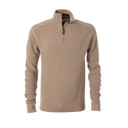 Royal Robbins All Season Merino 1/4 Zip Jumper in Oatmeal