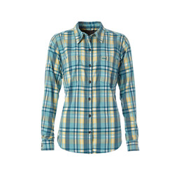 Royal Robbins Thermotech Flannel Shirt in Porcelain Multi