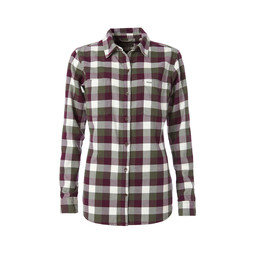 Royal Robbins Lieback Flannel L/S Shirt in Bayleaf