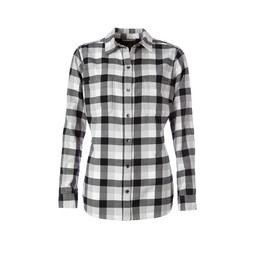 Royal Robbins Lieback Flannel L/S Shirt in Jet Black