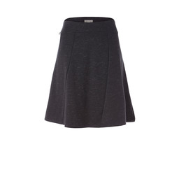 Royal Robbins Geneva Ponte Skirt in Charcoal Heather