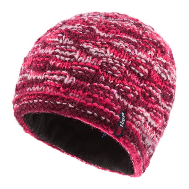 Basket Weave Rimjhim Hat - Anaar