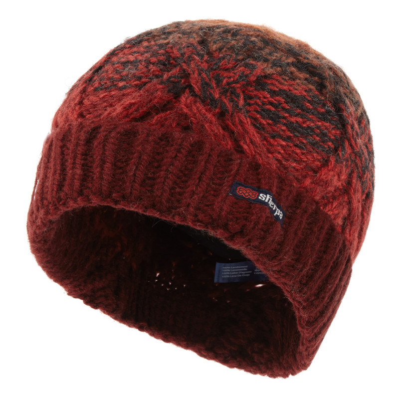 Shambala Hat - Potala Red