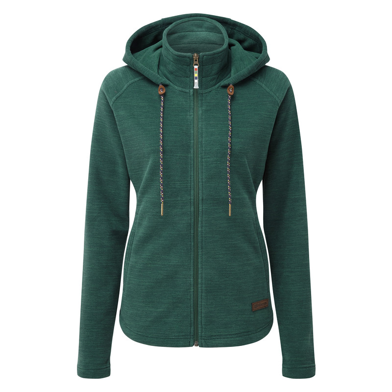 Sonam Hooded Jacket - Rathna Green