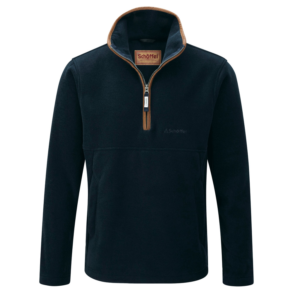 Berkeley 1/4 Zip Fleece Slate Blue