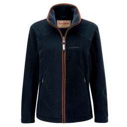 Schoffel Country Burley Fleece in Slate Blue