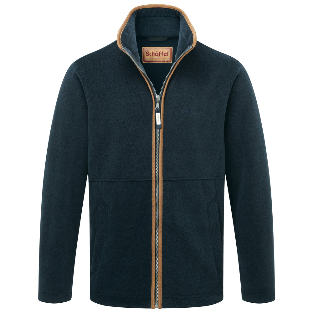 Cottesmore Fleece Jacket Slate Blue