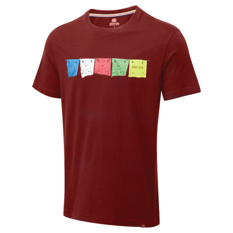 Sherpa Adventure Gear Tarcho Tee in Potala Red