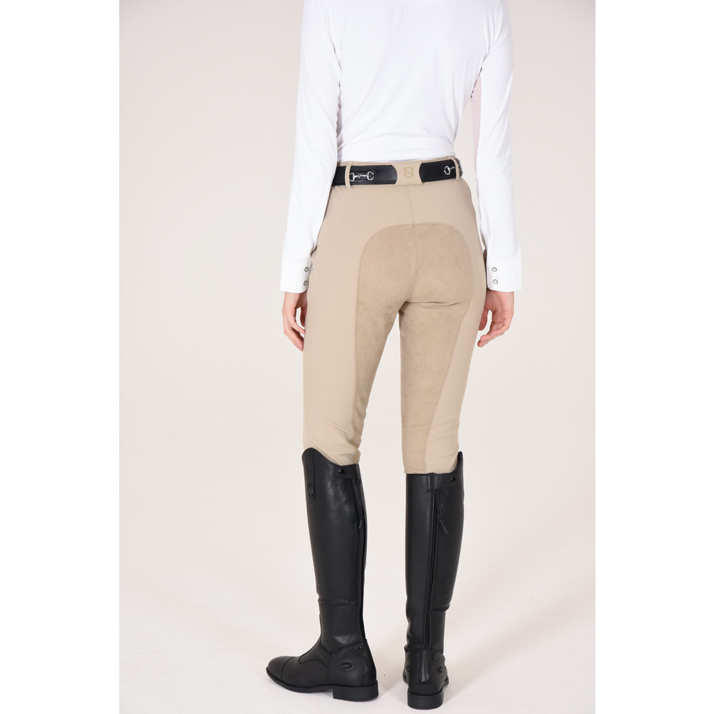 Signature Breech Full Seat Light Tan