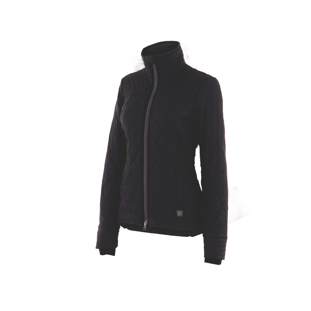 Warmup Quilted Jacket Black